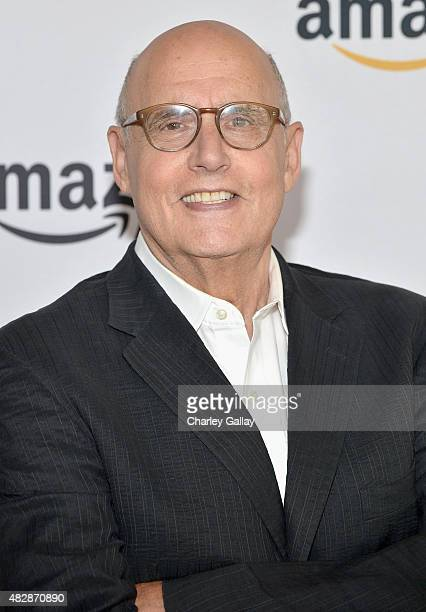 Actor Jeffrey Tambor attends the 'Transparent' panel discussion at the Amazon Studios portion of the 2015 Summer TCA Tour on August 3 2015 in Beverly...