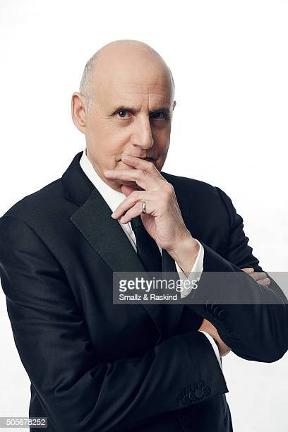 Actor Jeffrey Tambor poses for a portrait during the 21st Annual Critics' Choice Awards at Barker Hangar on January 17 2016 in Santa Monica California