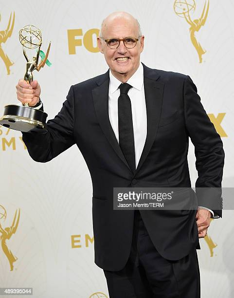 Actor Jeffrey Tambor winner of Outstanding Lead Actor in a Comedy Series for 'Transparent' poses in the press room at the 67th Annual Primetime Emmy...