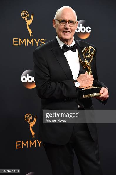 Actor Jeffrey Tambor winner of Outstanding Lead Actor in a Comedy Series for 'Transparent' poses in the press room at the 68th Annual Primetime Emmy...