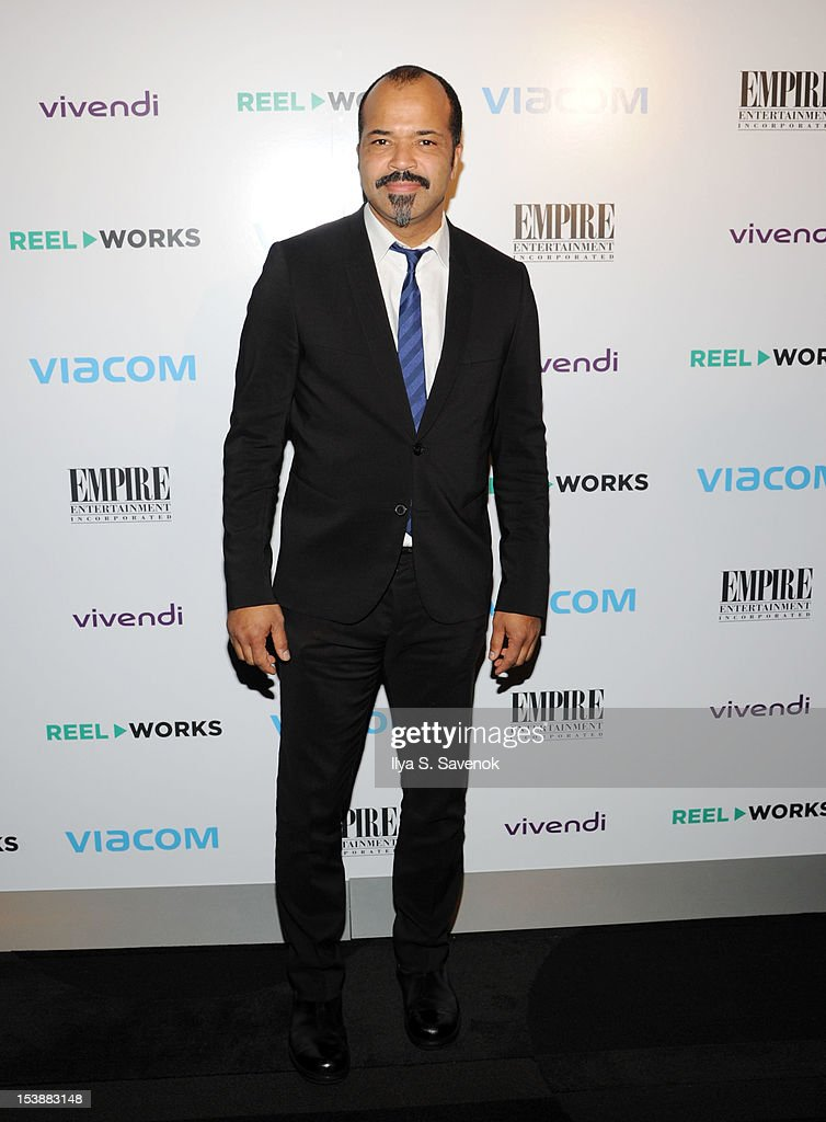 Actor Jeffrey Wright attends Reel Works 2012 Gala Benefit at The Edison Ballroom on October 10, 2012 in New York City.
