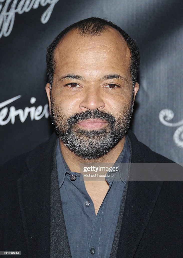Actor Jeffrey Wright attends the 'Breakfast At Tiffany's' Broadway Opening Night at Cort Theatre on March 20, 2013 in New York City.