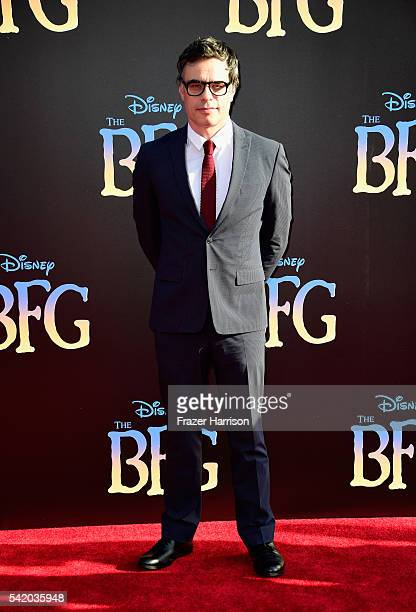 Actor Jemaine Clement attends Disney's 'The BFG' premiere at the El Capitan Theatre on June 21 2016 in Hollywood California