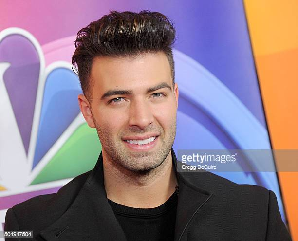 Actor Jencarlos Canela arrives at the 2016 NBCUniversal Winter TCA Press Tour at Langham Hotel on January 13 2016 in Pasadena California