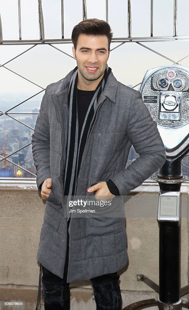 Actor <a gi-track='captionPersonalityLinkClicked' href=/galleries/search?phrase=Jencarlos+Canela&family=editorial&specificpeople=4290761 ng-click='$event.stopPropagation()'>Jencarlos Canela</a> visits The Empire State Building on February 10, 2016 in New York City.