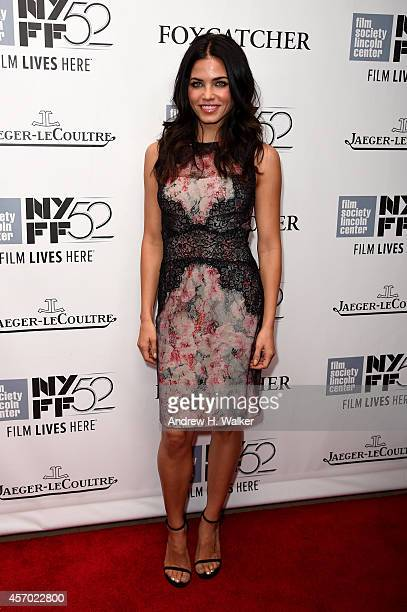 Actor Jenna Dewan attends the 'Foxcatcher' premiere during the 52nd New York Film Festival at Alice Tully Hall on October 10 2014 in New York City