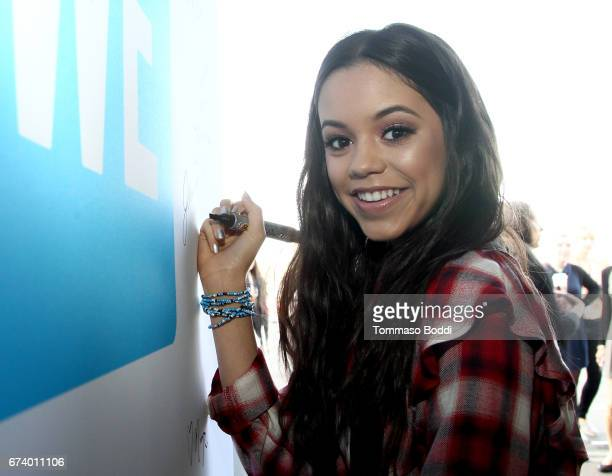 Actor Jenna Ortega attends WE Day California to celebrate young people changing the world at The Forum on April 27 2017 in Inglewood California