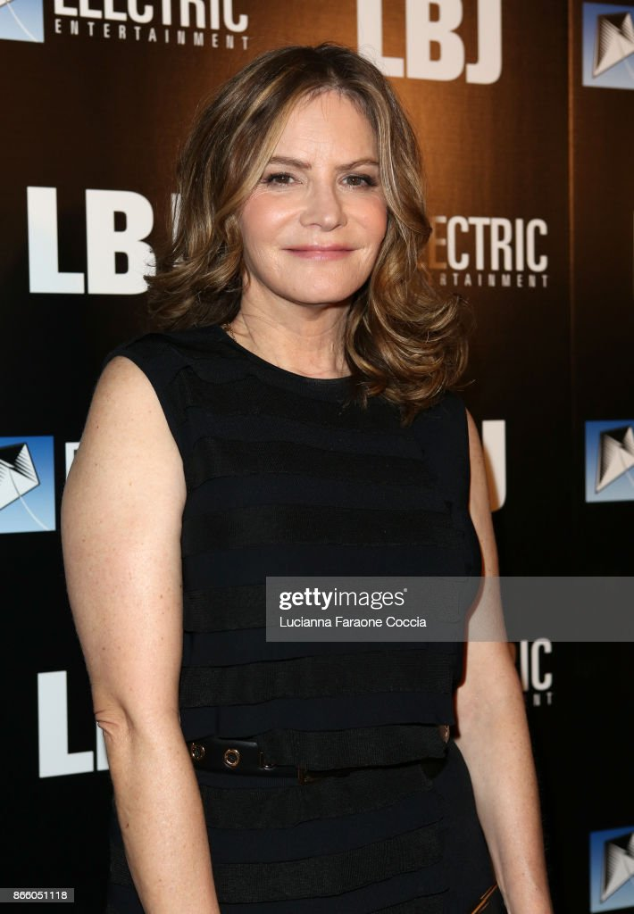 Actor Jennifer Jason Leigh attends the premiere of Electric Entertainment's 'LBJ' at ArcLight Hollywood on October 24, 2017 in Hollywood, California.
