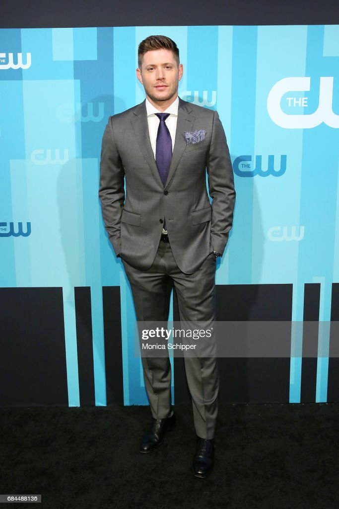 Actor Jensen Ackles attends the 2017 CW Upfront on May 18, 2017 in New York City.