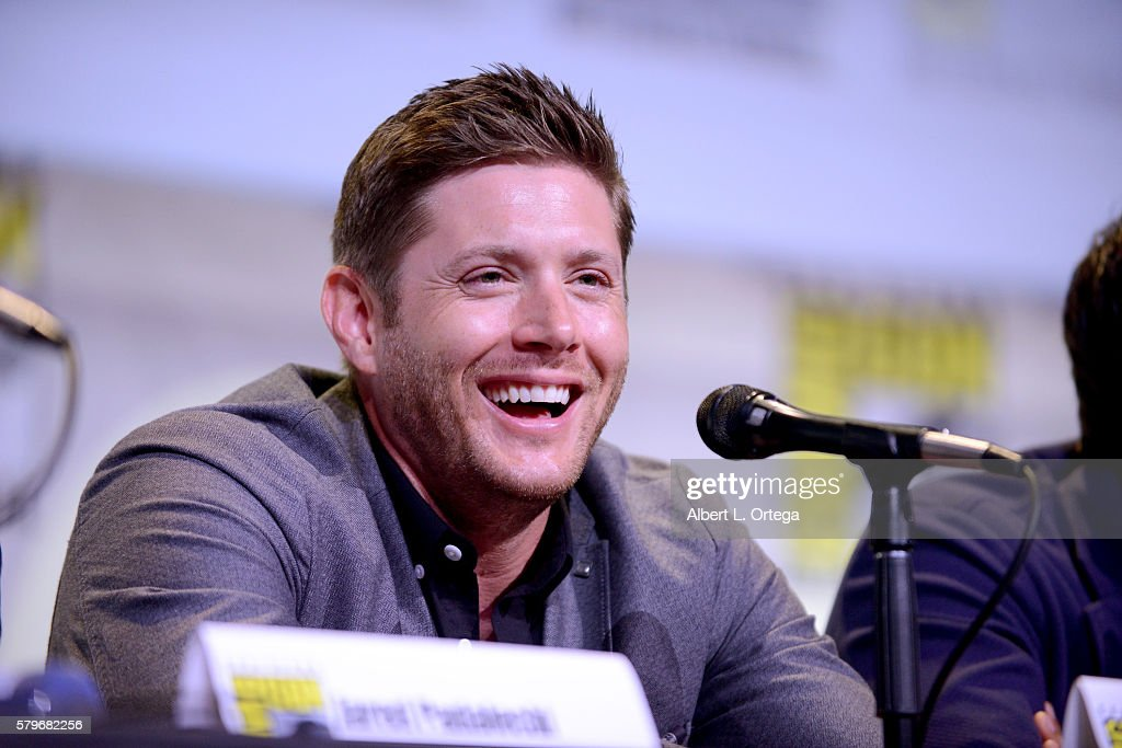 Actor Jensen Ackles attends the 'Supernatural' Special Video Presentation And Q&A during Comic-Con International 2016 at San Diego Convention Center on July 24, 2016 in San Diego, California.