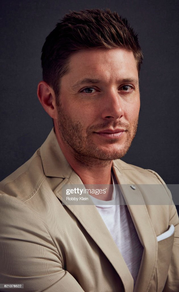 Actor Jensen Ackles from CW's 'Supernatural' poses for a portrait during Comic-Con 2017 at Hard Rock Hotel San Diego on July 21, 2017 in San Diego, California.