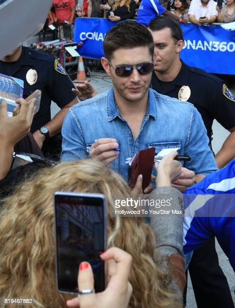 Actor Jensen Ackles is seen on July 19 2017 at ComicCon in San Diego California