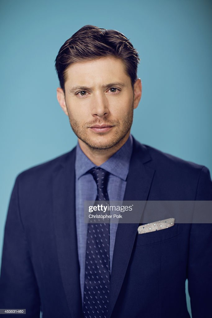 Actor Jensen Ackles poses for a portrait at CW network panel the Summer 2014 TCAs on July 18, 2014 in Beverly Hills, California.