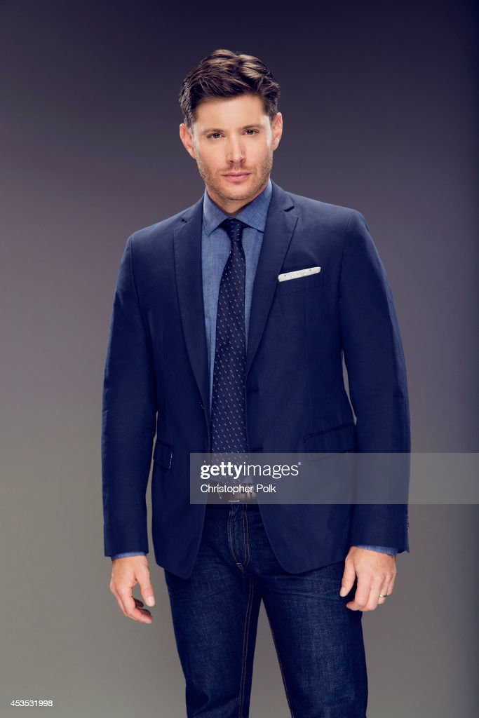 Actor Jensen poses for a portrait at the CW network panel at the Summer 2014 TCAs on July 18, 2014 in Beverly Hills, California.