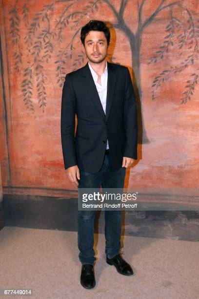 Actor Jeremie Elkaim attends the Chanel Cruise 2017/2018 Collection Show Photocall Held at Grand Palais on May 3 2017 in Paris France