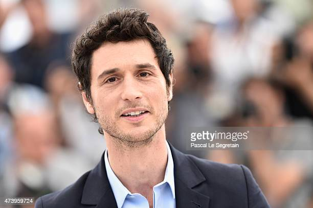Actor Jeremie Elkaim attends the 'Marguerite Julien' Photocall during the 68th annual Cannes Film Festival on May 19 2015 in Cannes France