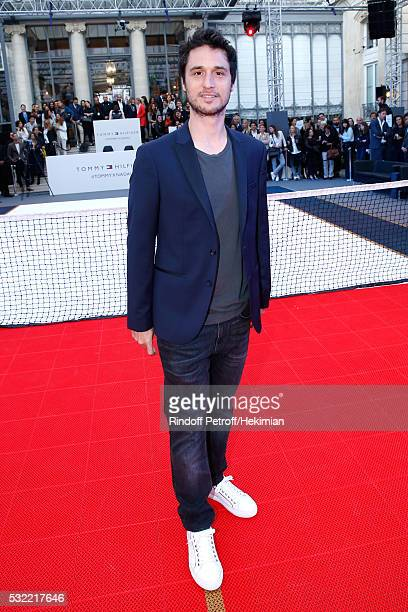 Actor Jeremie Elkaim attends Tommy Hilfiger hosts Tommy X Nadal Party Photocall on May 18 2016 in Paris