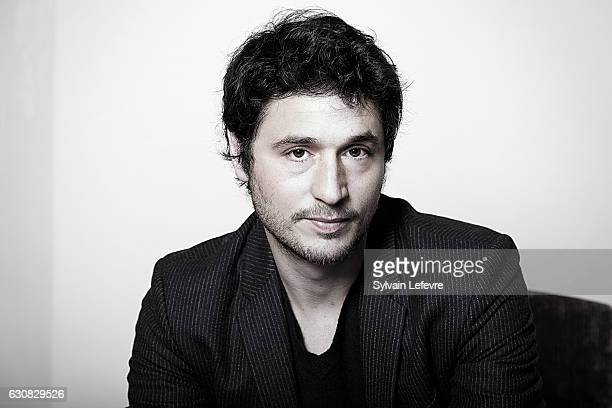 Actor Jeremie Elkaim is photographed for Self Assignment on December 13 2016 in Les Arcs France