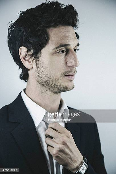 Actor Jeremie Elkaim is photographed on May 20 2015 in Cannes France