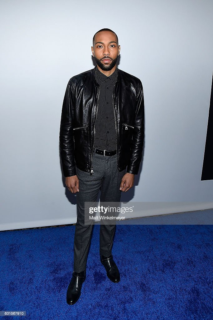 2017 Actor Jeremie Harris arrives at the Winter TCA Tour FX Starwalk at Langham Hotel on January 12, 2017 in Pasadena, California.