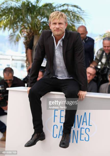 Actor Jeremie Renier attends the 'Saint Laurent' photocall during the 67th Annual Cannes Film Festival on May 17 2014 in Cannes France