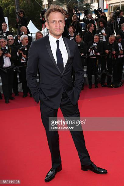 Actor Jeremie Renier attends 'The Unknown Girl ' Premiere during the 69th annual Cannes Film Festival at the Palais des Festivals on May 18 2016 in...