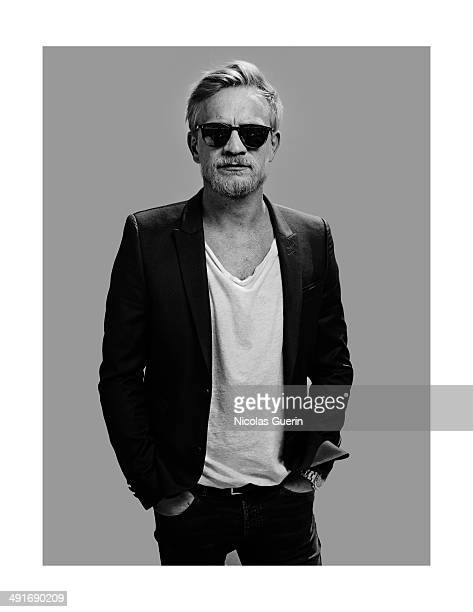 Actor Jeremie Renier is photographed for Self Assignment on May 16 2014 in Cannes France