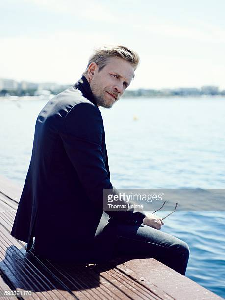 Actor Jeremie Renier is photographed for Self Assignment on May 17 2014 in Cannes France