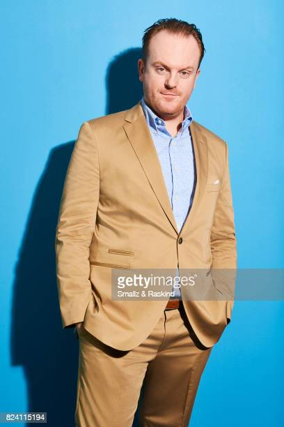 Actor Jeremy Bobb of Discovery Communications 'Discovery Channel Manhunt Unabomber' poses for a portrait during the 2017 Summer Television Critics...