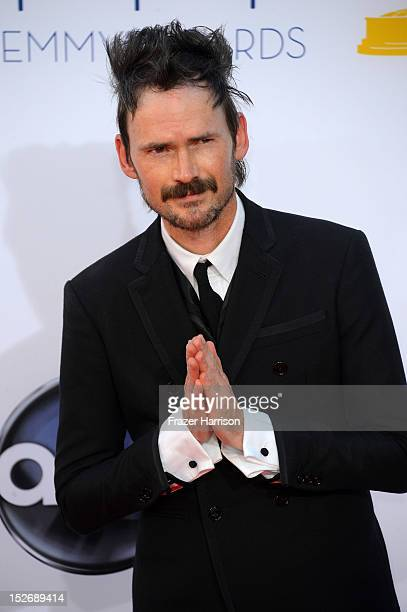 Actor Jeremy Davies arrives at the 64th Annual Primetime Emmy Awards at Nokia Theatre LA Live on September 23 2012 in Los Angeles California