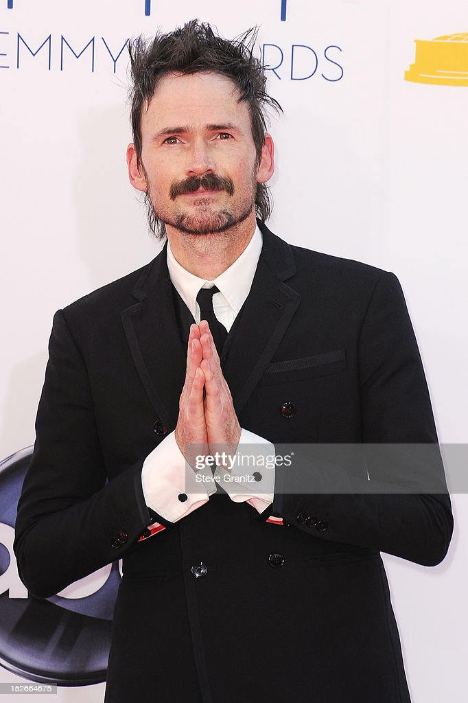 Actor Jeremy Davies arrives at the 64th Primetime Emmy Awards at Nokia Theatre L.A. Live on September 23, 2012 in Los Angeles, California.