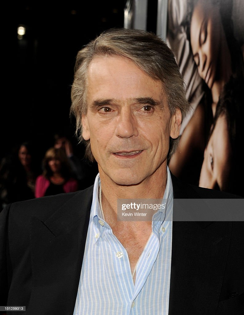 Actor Jeremy Irons arrives at the premiere of CBS Films' 'The Words' at the Arclight Theatre on September 4, 2012 in Los Angeles, California.