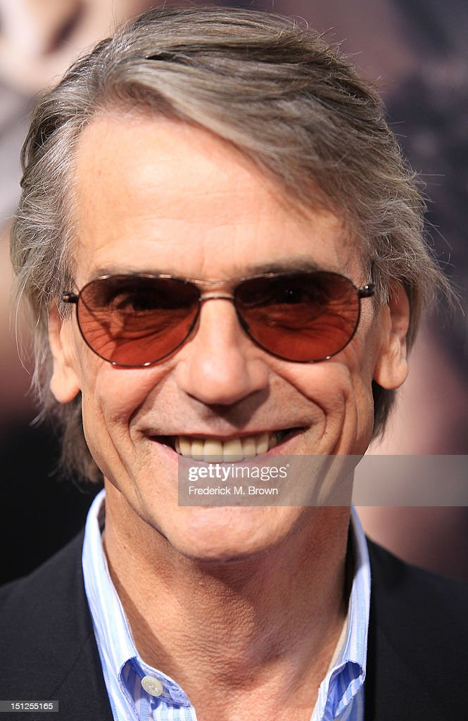 Actor Jeremy Irons attends the Premiere Of CBS Films' 'The Words' at the ArcLight Cinemas on September 4, 2012 in Hollywood, California.