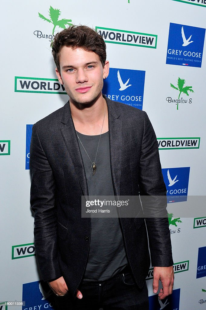 Actor <a gi-track='captionPersonalityLinkClicked' href=/galleries/search?phrase=Jeremy+Irvine&family=editorial&specificpeople=7595423 ng-click='$event.stopPropagation()'>Jeremy Irvine</a> attends the Bungalow 8 and Worldview party on September 7, 2013 in Toronto, Canada.
