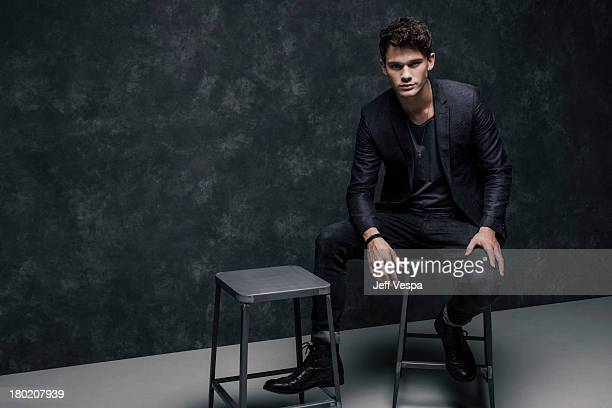Actor Jeremy Irvine is photographed at the Toronto Film Festival on September 7 2013 in Toronto Ontario