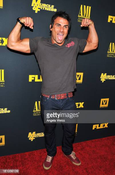 Actor Jeremy Jackson arrives at the Los Angeles premiere of 'GENERATION IRON' at Chinese 6 Theater Hollywood on September 18 2013 in Hollywood...
