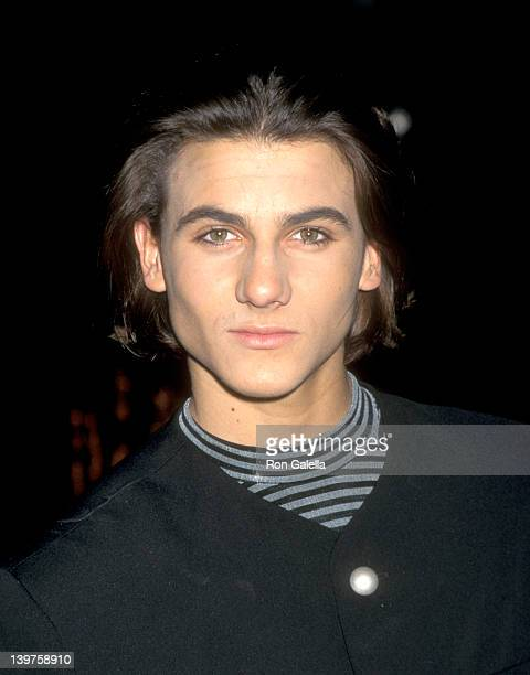 Actor Jeremy Jackson attends 'Baywatch' 'Baywatch Nights' Holiday Party on December 15 1995 at Universal Studios in Universal City California