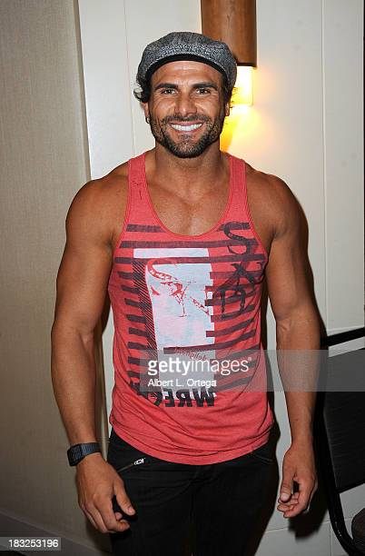 Actor Jeremy Jackson attends The Hollywood Show held at The Westin Los Angeles Airport Hotel on Saturday October 5 2013 in Los Angeles California