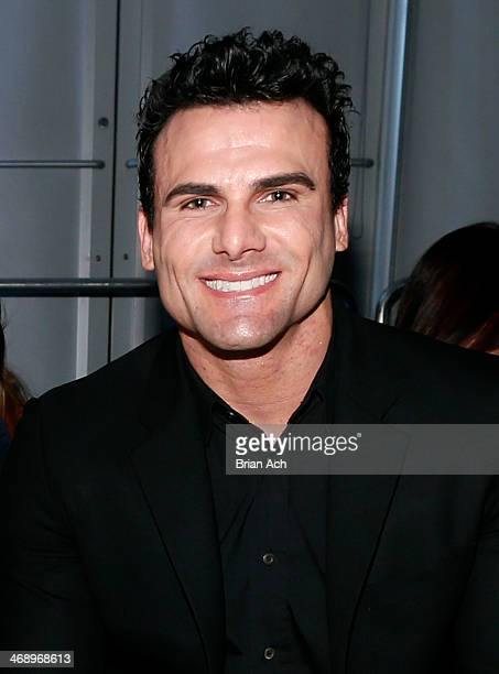 Actor Jeremy Jackson attends the Leka show during Nolcha Fashion Week New York Fall/Winter 2014 presented by RUSK at Pier 59 on February 12 2014 in...