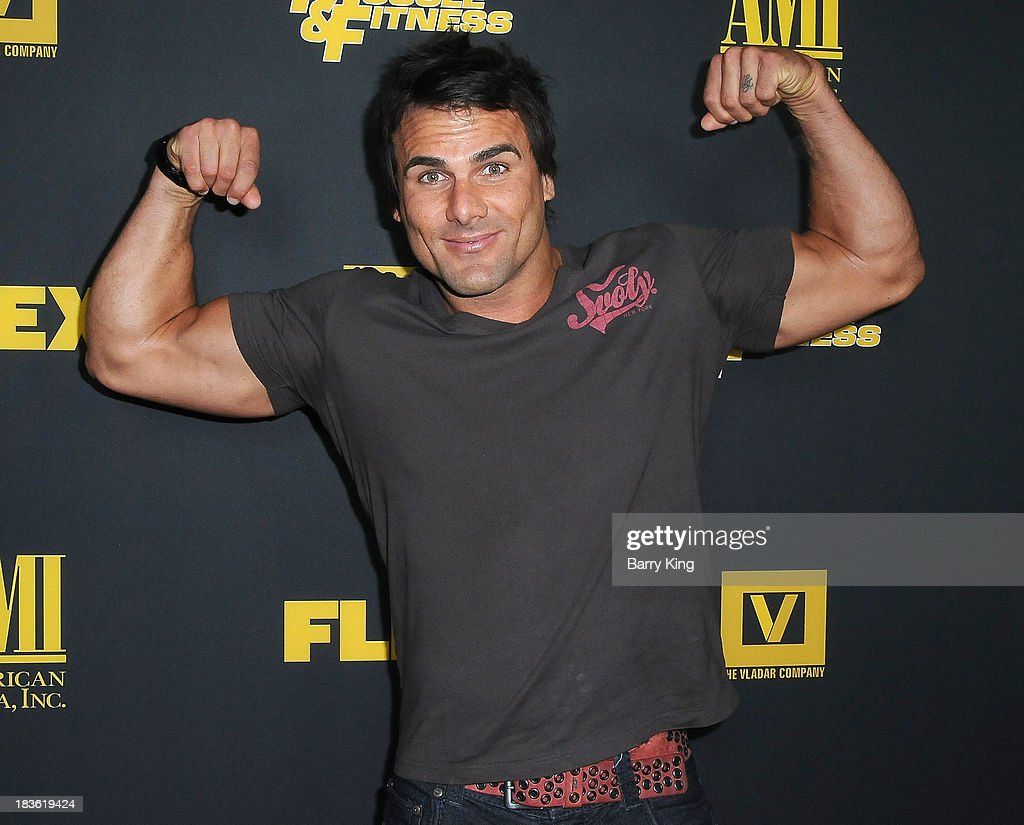 Actor <a gi-track='captionPersonalityLinkClicked' href=/galleries/search?phrase=Jeremy+Jackson+-+Actor&family=editorial&specificpeople=14574803 ng-click='$event.stopPropagation()'>Jeremy Jackson</a> attends the Los Angeles premiere of 'Generation Iron' on September 18, 2013 at Chinese 6 Theatres in Hollywood, California.