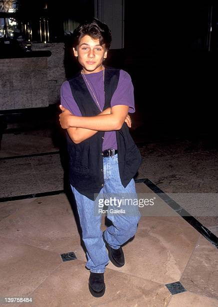Actor Jeremy Jackson attends the opening of Spectrum Club on August 19 1993 in Santa Monica California