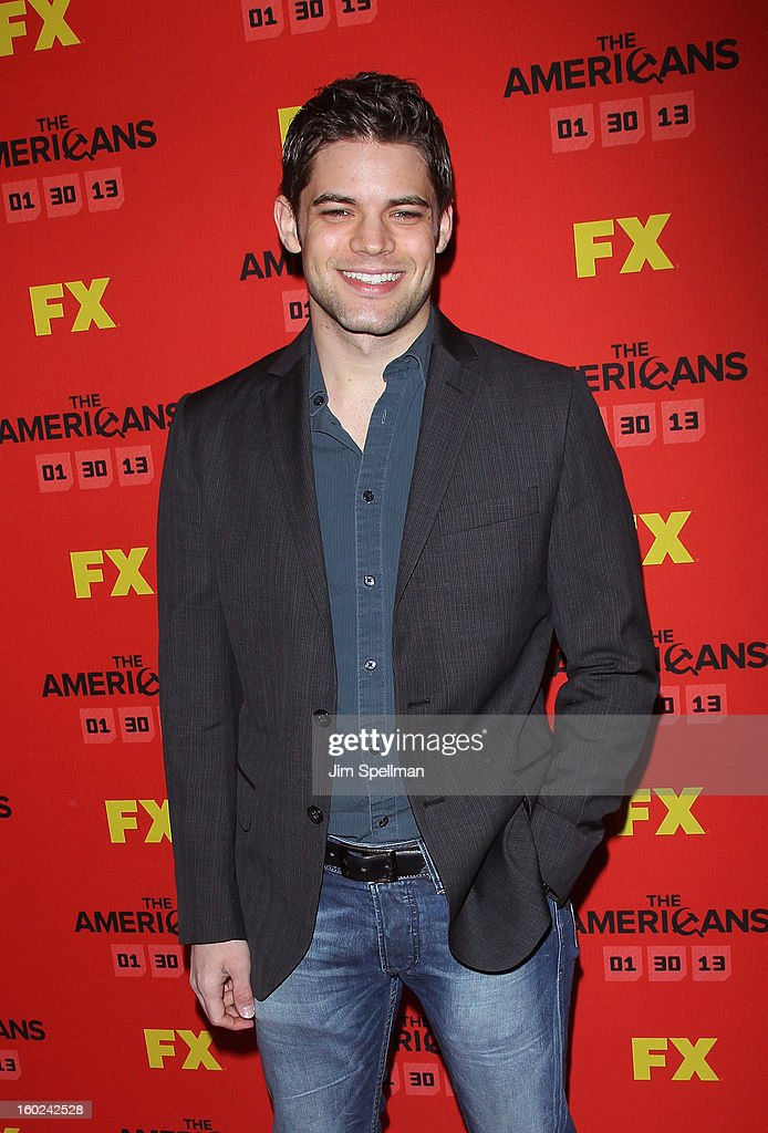 Actor Jeremy Jordan attends FX's 'The Americans' Season One New York Premiere at DGA Theater on January 26, 2013 in New York City.