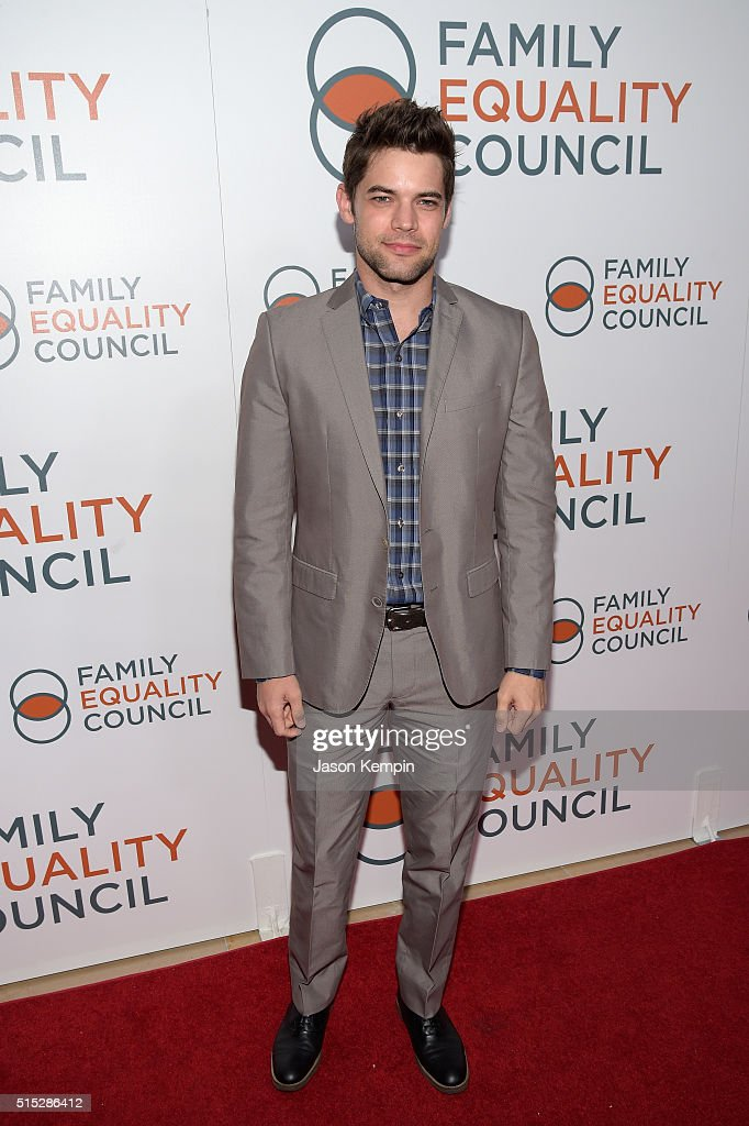 Actor Jeremy Jordan attends the Family Equality Council Impact Awards on March 12, 2016 in Beverly Hills, California.