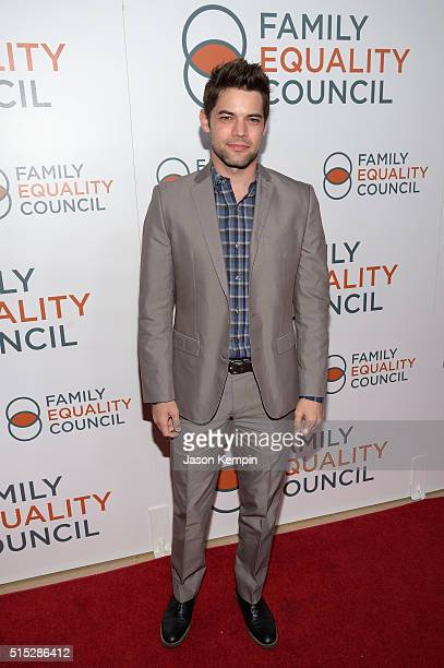 Actor Jeremy Jordan attends the Family Equality Council Impact Awards on March 12 2016 in Beverly Hills California