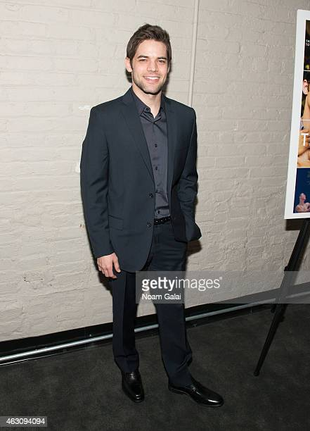 Actor Jeremy Jordan attends 'The Last Five Years' New York premiere at the Minetta Lane Theatre on February 9 2015 in New York City