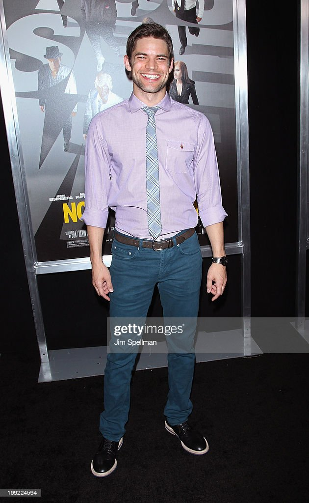 Actor Jeremy Jordan attends the 'Now You See Me' premiere at AMC Lincoln Square Theater on May 21, 2013 in New York City.