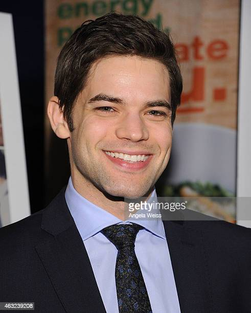 Actor Jeremy Jordan attends the premiere of RADiUS' 'The Last Five Years' at ArcLight Hollywood on February 11 2015 in Hollywood California
