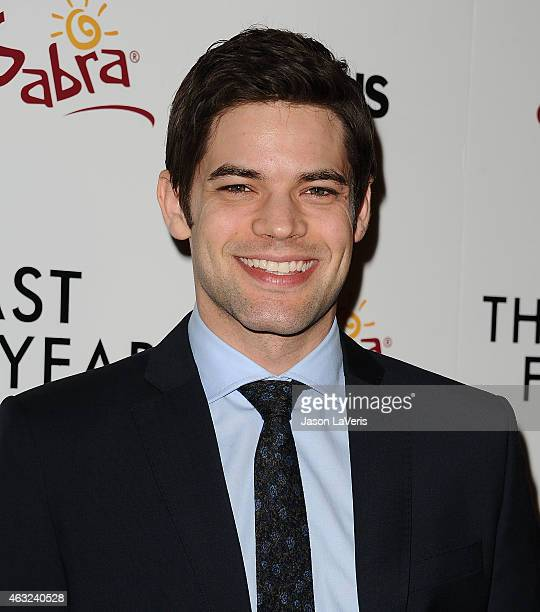 Actor Jeremy Jordan attends the premiere of 'The Last Five Years' at ArcLight Hollywood on February 11 2015 in Hollywood California