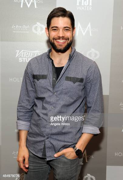 Actor Jeremy Jordan attends the Variety Studio presented by Moroccanoil at Holt Renfrew during the 2014 Toronto International Film Festival on...