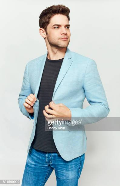 Actor Jeremy Jordan from CW's 'Supergirl' poses for a portrait during ComicCon 2017 at Hard Rock Hotel San Diego on July 22 2017 in San Diego...